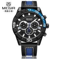 男士手表 新品别出心裁旋转式真三眼设计石英男士手表