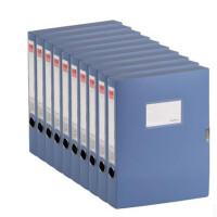 齐心文具 A1248 PP档案盒 A4/35MM 文件盒 资料盒 颜色随机