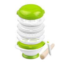 【支持礼品卡】辅食研磨器YM-1婴儿宝宝辅食儿童餐具 食物研磨碗8件套装5yc