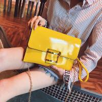 女包包2018新款休闲手拿包糖果色信封包夏季学生斜挎包百搭链条包
