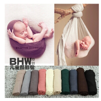 新生儿摄影毯子 小宝宝毛毯裹布 婴儿毯子裹布 裹毯摄影毛毯 毯子