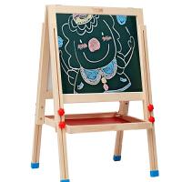 宝宝画架画画套装 七巧板儿童画板家用升降支架式小黑板磁性写字板