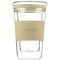 [当当自营]Vatiri 乐怡糖果过滤式耐热玻璃杯360ml奶茶白 VTC0007