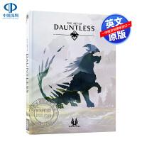 英文原版 无畏 官方艺术画集 精装游戏设定集 The Art of Dauntless 概念画册 Phoenix Lab