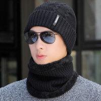 帽子男冬天保暖毛线帽套头帽男士冬季骑车针织帽