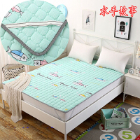 棉儿童床褥子薄款铺床被子可折叠可机洗海绵床垫1.2/1.35m