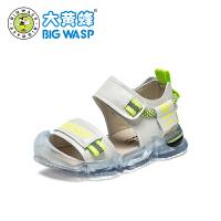 大黄蜂童鞋男童凉鞋儿童学步鞋软底鞋2020夏季新款小男孩韩版鞋子