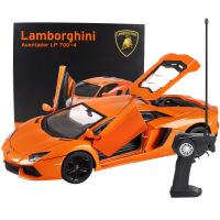 ?美致兰博基尼合金遥控汽车模型开门充电动赛车漂移儿童玩具车男孩