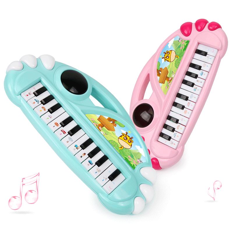 玩具婴幼儿女孩1-3-6岁宝宝电子琴 儿童初学者迷你小钢琴音乐