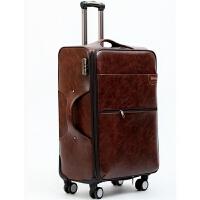 旅行箱24寸拉杆箱万向轮20寸登机箱商务26寸行李箱女男密码软皮箱SN6347