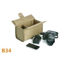 摄影包松下索尼EPL5微单相机内胆包 加厚防震防水 b34 军绿色