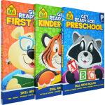 【3-7岁思想者练习3册】School Zone Thinkers Get Ready for Preschool K
