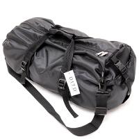 防水折叠旅行包男手提运动包行李袋单肩包女休闲包时尚训练健身包SN2444 黑色