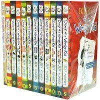 [预售]小屁孩日记 英文原版 1-11加1本DIY共12册套装 Diary of a Wimpy Kid 酷宝日记 全新 共12册 儿童 漫画 初中学生课外读物