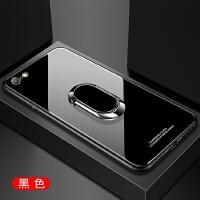 苹果6plus手机壳iphone6splus磁吸支架a1524钢化玻璃a1699外套男