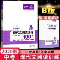 一本现代文阅读能力训练100篇九年级B版中考语文2020版