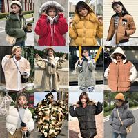 冬装韩版学院风百搭加厚保暖棉衣外套女