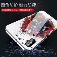 钢铁侠复仇者联盟4苹果x手机壳男欧美iphonex玻璃硅胶全包防摔超薄iphone x新款个性创意8