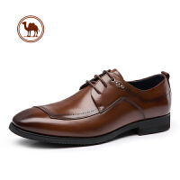 骆驼牌男鞋 皮鞋男通勤商务正装真皮鞋 子百搭英伦风休闲男鞋