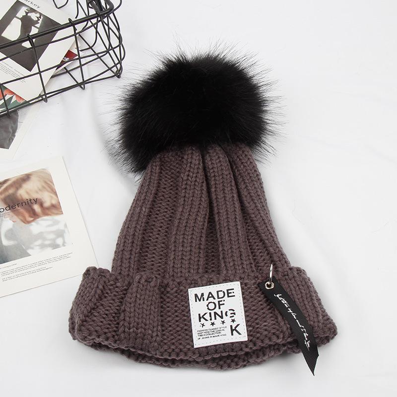 毛线帽冬季帽子女冬天韩版潮甜美时尚可爱秋冬针织保暖护耳兔毛帽LCQ  M(56-58cm) 发货周期:一般在付款后2-90天左右发货,具体发货时间请以与客服协商的时间为准