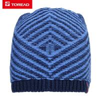 探路者滑雪帽 18秋冬户外男款舒适保暖滑雪帽ZELG91520