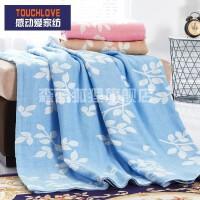 夏天盖的毛巾被子毯子夏季单人薄款老式双面双人纱布单子