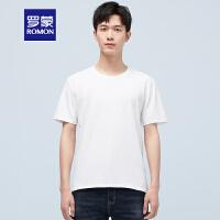 【补贴价:29元】罗蒙纯棉T恤薄款