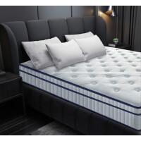 床垫 天然乳胶独立袋装弹簧床垫 硬椰棕棕榈弹簧床垫
