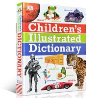 DK儿童图解字典词典 英文原版 Children's Illustrated Dictionary 儿童英语学习工具书英