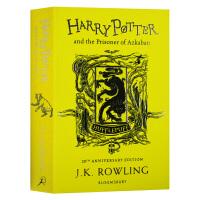 哈利波特与阿兹卡班的囚徒 赫奇帕奇平装版 英文原版小说 Harry Potter and the Prisoner o