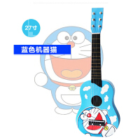 大号木质儿童吉他玩具仿真可弹奏小孩宝宝玩具小吉他乐器玩具a287 +背带+背包