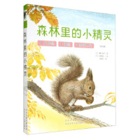 绘本森林里的小精灵套装3册小松鼠睡鼠黑啄木鸟共3本幼儿启蒙读物