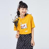 【5.16-5.17日抢购价:45】女涂鸦*针织短袖T恤