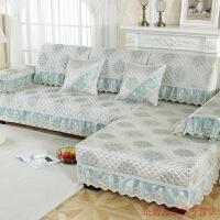 欧式沙发垫四季通用蕾丝北欧风防滑坐垫现代简约沙发巾靠背巾罩可