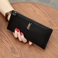 新款韩版女士长款钱包真皮手包手机钱夹头层牛皮拉链手拿包潮