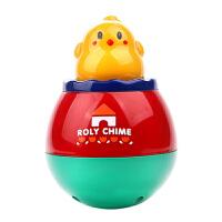日本皇室小鸡不倒翁宝宝带音乐婴儿大号玩具6-12个月 807 小鸡不倒翁