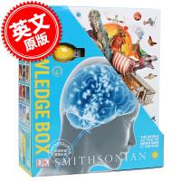 [现货]DK知识百科 英文原版 The Knowledge Box 10册套装 含4G的U盘 进口童书 DK百科系列