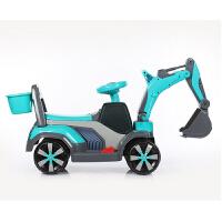 男孩玩具车滑行工程车儿童挖掘机可坐可骑大号电动挖土机钩机