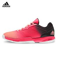 adidas阿迪达斯 羽毛球鞋女款网面透气训练鞋运动鞋