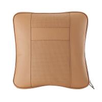 gucci汽车抱枕用空调被真皮棉质三合一腰靠可拆洗透气四季旅行车载用品