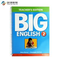 Big English 朗文培生原装进口幼儿英语教材Teacher's Edtion 2级别教师用书