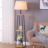落地灯北欧客厅简约现代沙发茶几灯创意书房卧室温馨带桌立式台灯