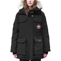 加拿大进口鹅绒大鹅羽绒服女男2018新款中长款加厚保暖防寒外套 X