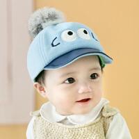 秋冬6-12个月婴儿帽子0-1-2岁男童宝宝婴幼儿鸭舌帽毛呢女潮3 6-24个月