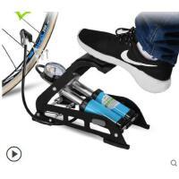防漏户外打气筒高压家用脚踩自行电动摩托汽车便携篮球气压表配件