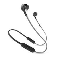 JBL TUNE205BT无线蓝牙耳机运动耳机 T205BT半入耳式音乐耳机带麦
