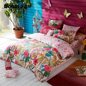 多喜爱全棉四件套异域风情床上用品民族风全棉套件哈瓦那的阳光