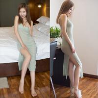 情趣内衣情趣套装和服长裙空姐性感睡衣夏季透视制服裙护士装吊带