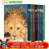新版纳尼亚传奇英文原版小说全套8册全集盒装TheChroniclesofN