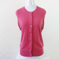新款中老年女式大码毛衣开衫秋冬新款妈妈奶奶装长袖羊绒衫